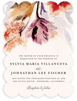 Grecian Floral Wedding Invitations