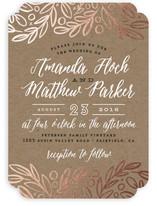 Hidden Branches Wedding Invitations
