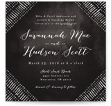 Indigo Print Wedding Invitations