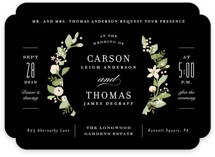 Longwood Estates Wedding Invitations