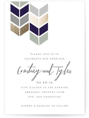 Mau Loa Wedding Invitations