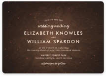 Night In The Forest Wedding Invitations