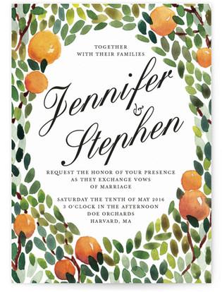 Orangerie Wedding Invitations