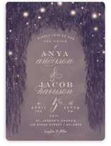 Paris Garden Wedding Invitations