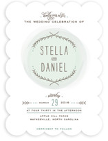 Romantic Whisper Wedding Invitations