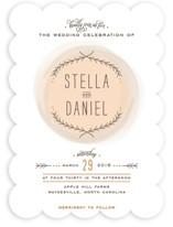 Romantic Whisper Wedding Invitations