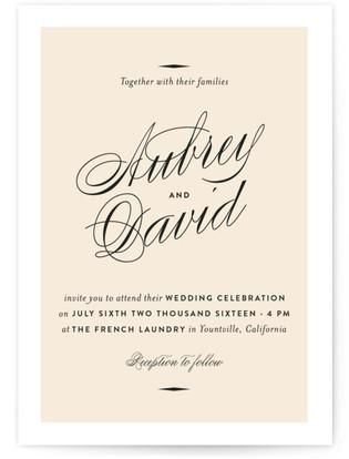Sabrina Wedding Invitations