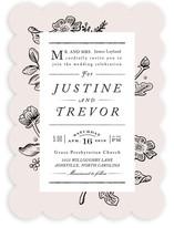 Vintage Caslon Wedding Invitations