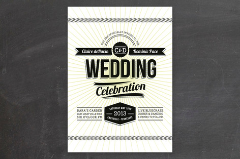 Making It Official Wedding Invitations