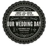 Cosmopolitan Roaring 20's Wedding Invitations