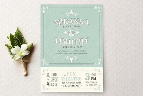 Marquee Wedding Invitations