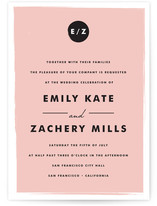 Retro Charm Wedding Invitations