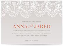 Mantilla Spanish Lace Wedding Invitations