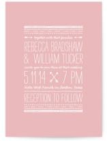 Arrowhead Wedding Invitations