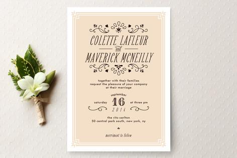 Chamade Wedding Invitations