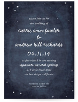 Constellations Wedding Invitations