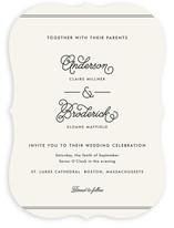 Broderick Wedding Invitations