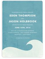 Big Wave Wedding Invitations