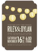 Paper Lanterns Wedding Invitations