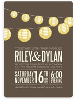 Paper Lanterns Wedding Invitations