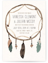 Dream Catcher Wedding Invitations
