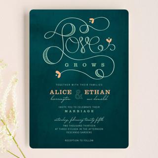 Love Grows Wedding Invitations