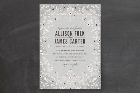A Midsummer Night's Dream Wedding Invitations