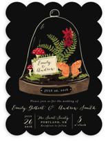 Bell Jar Wedding Invitations