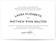 Champagne Toast Wedding Invitations