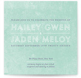 Just What You Need Wedding Invitations