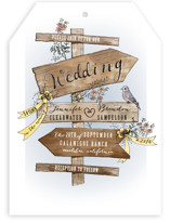 The Wedding Sign Says Wedding Invitations