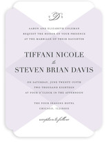 Overlapping Triangles Wedding Invitations