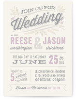 Rustic Charm Wedding Invitations