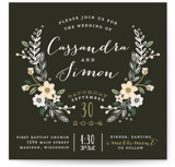 Wildflower Crest Wedding Invitations