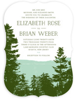 Mountain View Wedding Invitations