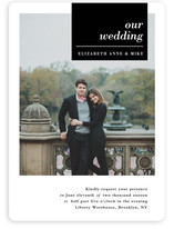 City Life Wedding Invitations