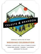 Merit Badge Wedding Invitations