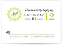 Cadillac Wedding Invitations