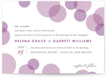 Blissful Bokeh Wedding Invitations