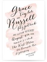 Pastel Watercolor Wash Wedding Invitations