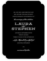 Mod Elegance Wedding Invitations