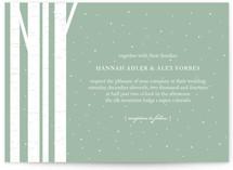 Winter Birch Wedding Invitations