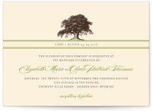 Oak Tree Wedding Invitations