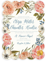 Garden Rose Wedding Invitations