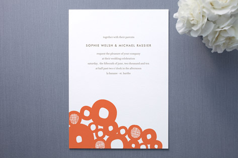 Boulders Wedding Invitations