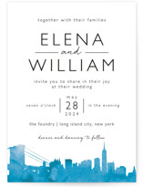 Skyline-New York Wedding Invitations