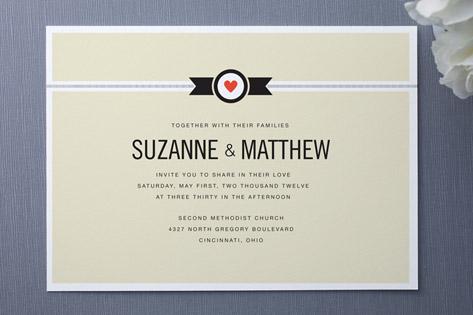 Classic Affair Wedding Invitations