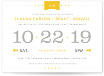 Sunshine Day Wedding Invitations