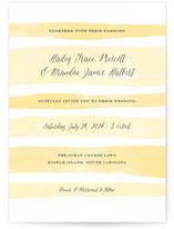 Sorbet Stripes Wedding Invitations