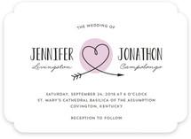 Lovestruck Wedding Invitations
